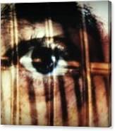 Arrested - Visceral Canvas Print