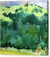 Close Mountains Canvas Print