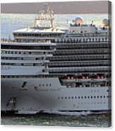 Close Up Of Diamond Princess Canvas Print