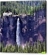 Close-up Telluride Falls Canvas Print