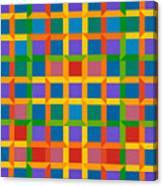 Closed Quadrilateral Lattice Canvas Print