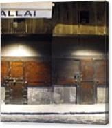Closed Shop Stall Doors 2 Canvas Print