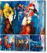 Closeup All Out Canvas Print