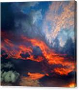 Cloud Abstract 1 Canvas Print