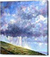 Cloud Burst Ireland Canvas Print