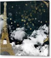 Cloud Cities Paris Canvas Print