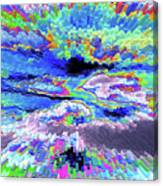 Cloud Energy Canvas Print