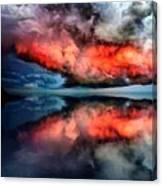 Cloud Fantasia Reflected L A S Canvas Print