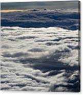 Cloud Layers Canvas Print