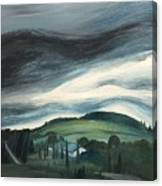 Black Cloud Canvas Print