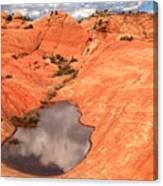 Cloud Pocket Canvas Print