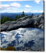 Cloud Pool On Borestone Mountain Canvas Print