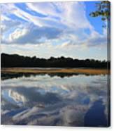 Cloud Show, Reflected Canvas Print