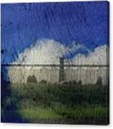 Cloud Silo Canvas Print
