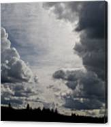 Cloud Study 2 Canvas Print