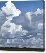 Cloud Study Canvas Print