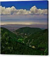 Cloudcroft Canyon View Canvas Print