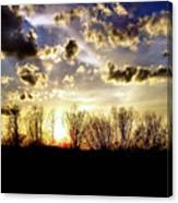 Clouded Eve Canvas Print