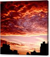 Clouded Fury Canvas Print