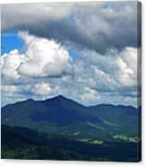 Clouded Landscape Canvas Print