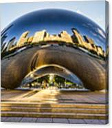 Cloudgate In Chicago Canvas Print