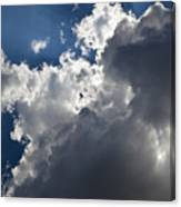 Clouds Before A Thunderstorm Canvas Print