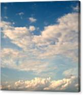 Clouds Clouds Clouds Canvas Print