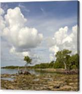 Clouds In The Keys 2 Canvas Print