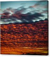 Clouds Of Fire Canvas Print