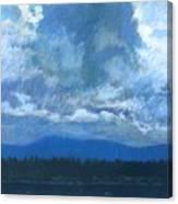Clouds On The Kootenai Canvas Print