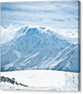 Clouds On The Top Of The Ridge Canvas Print