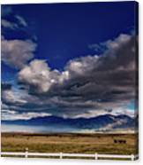 Clouds Over California Canvas Print