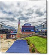 Clouds Over Gillette Stadium Canvas Print