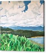 Clouds Over Kauai Canvas Print