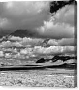 clouds over Nevada desert Canvas Print