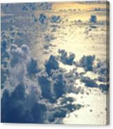 Clouds Over Ocean Canvas Print