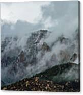 Clouds Over Sandia Canvas Print