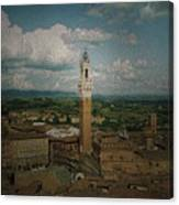 Clouds Over Siena Canvas Print