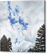 Clouds Over Tahquitz Canvas Print