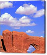 Clouds Over The Arches Canvas Print