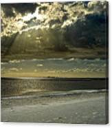 Clouds Over The Bay Canvas Print