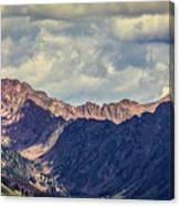 Clouds Over The Gore Range Canvas Print