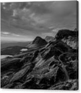 Clouds Over The Isle Of Skye Canvas Print