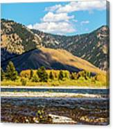 Clouds Over The Teton Foothills Canvas Print