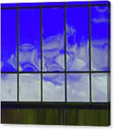 Clouds Reflected Canvas Print