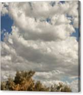 Clouds Rising Palm Springs Canvas Print