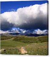 Clouds Rolling In Canvas Print