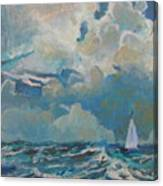 Clouds Sails Canvas Print