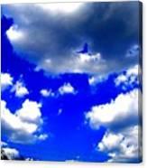 Clouds Study  1 Canvas Print