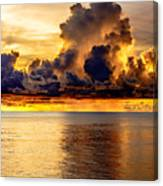 Clouds Within The Clouds Canvas Print